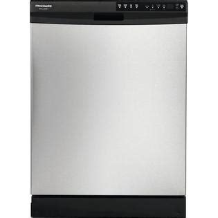 frigidaire fgbd2445nf 24 built in dishwasher stainless steel