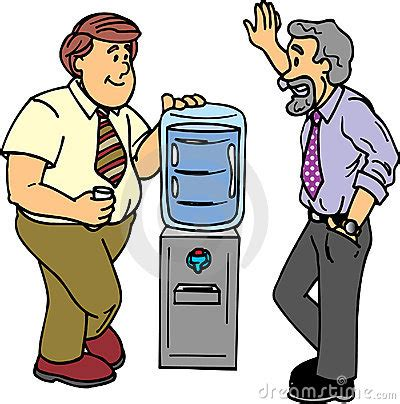 office gossip effects water cooler chat