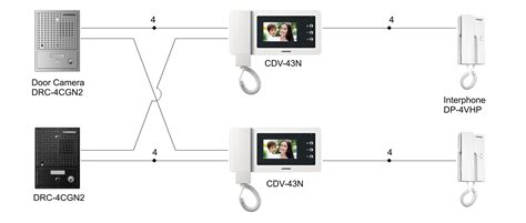 4 unit intercom wiring diagram get free image about
