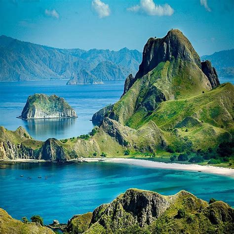 padar island komodo national park travel pinterest