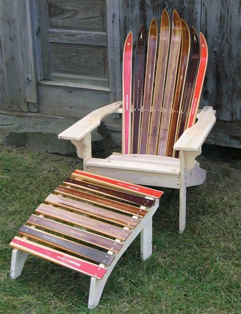 make adirondack chair from skis 1000 images about snow ski adirondack chair on