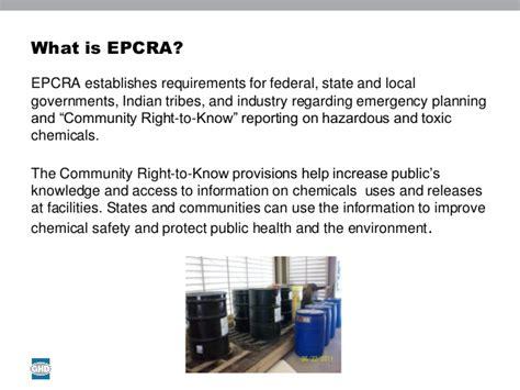 section 302 epcra michael reece ghd understanding epcra reporting tier i