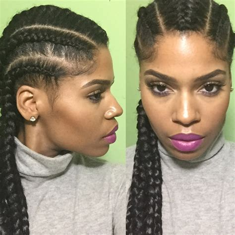 easy cornrow hairstyles to do yourself protective cornrow hairstyles for natural hair hairstyles