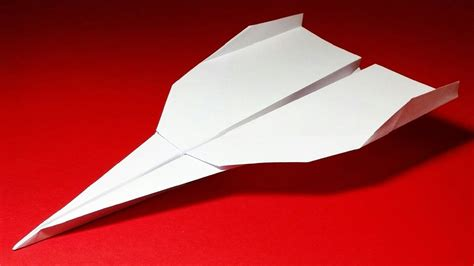 How To Make The Best Paper Plane - how to make a paper airplane best paper planes in the