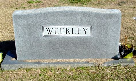 norvelle ernest weekley 1928 2002 find a grave memorial