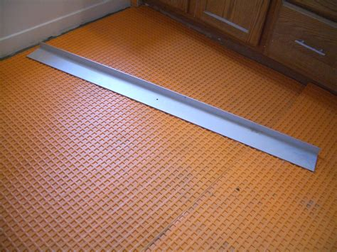 Ditra Heat Mat by How To Install Suntouch Warmwire In Floor Heating Part 2