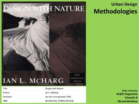 Design With Nature design with nature review