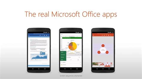 android office microsoft office disponible para android apdroid