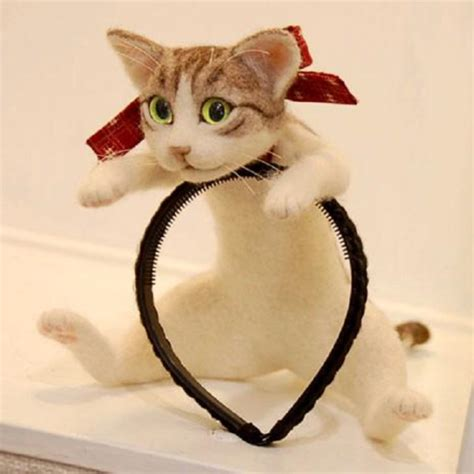 Are Cats The New Must Accessory by Must Accessories The Cat On Your Headband