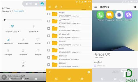 cyanogenmod themes play store grace ux theme for cyanogenmod 13 12 x