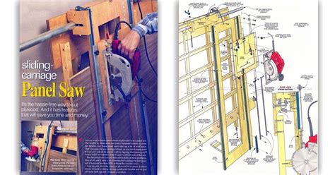 panel saw woodworking plan panel saw plans woodarchivist