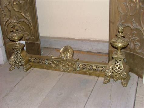 accessori per camini accessori per camini fermabraciere in ottone epoca 800