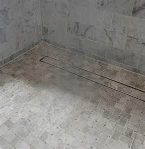shower tile drain 17 best images about bathrooms on grey tiles