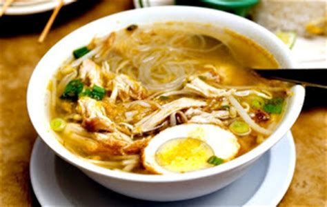resep membuat soto ayam kuning resep cara membuat soto ayam kuning bening resep masakan