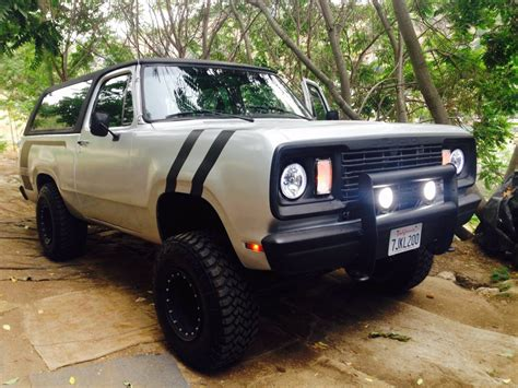 1978 dodge ramcharger for sale 1978 dodge ramcharger 360 v8 automatic for sale in los