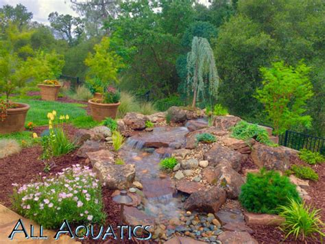 Masker Ponds contractor s corner mask the mechanics to create a seamless view of your waterscape pond