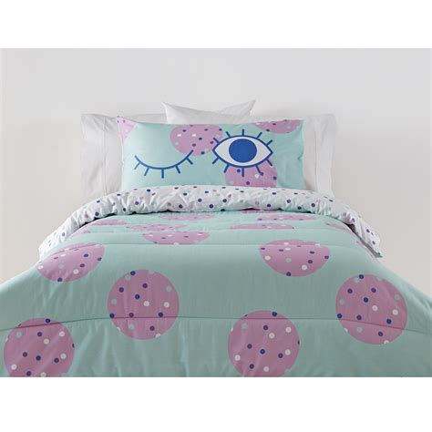 kmart kids bedding eadie comforter set single bed kmart