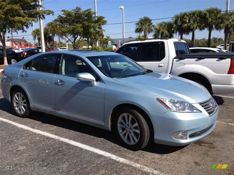 lexus light blue 2010 cerulean blue metallic lexus es 350 75394157