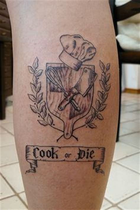 kitchen tattoo designs 1000 ideas about culinary tattoos on pinterest chef