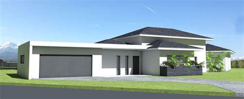 Terrasse Couverte Maison by Maison D Architecte Contemporaine 224 Tuiles Noires Et