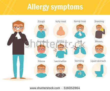 allergies coughing allergy stock images royalty free images vectors