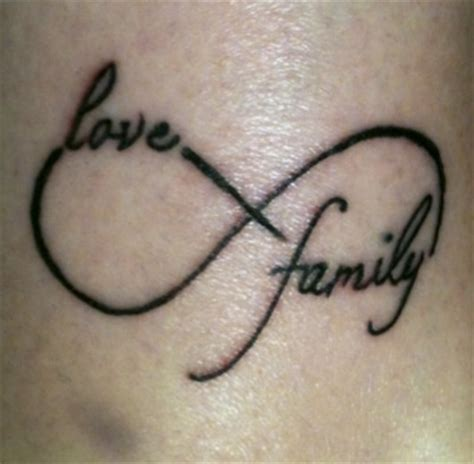 family symbols tattoos designs family with the infinity symbol photos