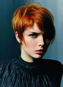 aveda short hair cuts a short red hairstyle from the aveda collection no 6311