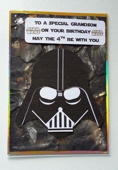 darth vader birthday card template darth vader birthday card wars card by