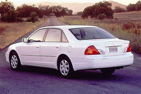 2000 04 toyota avalon consumer guide auto