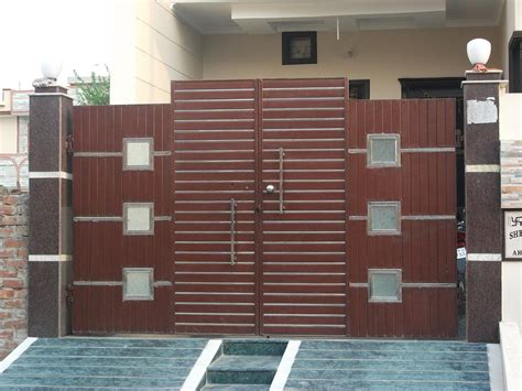 modern gate pillar design with inspirations pictures