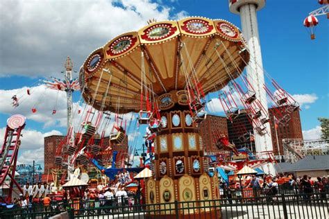 theme park new york coney island s two new parks drew record summer crowds