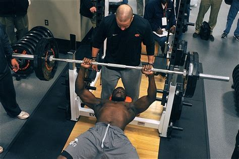 combine bench press results austin on dallas d line bench press rulers produce in nfl