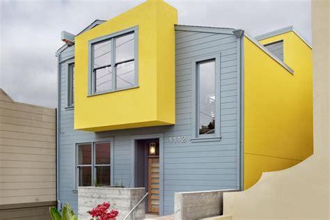 contoh kombinasi warna cat teras rumah  bagus