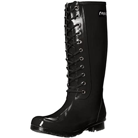 roma boots roma 9660 womens opinca rubber lace up mid calf boots