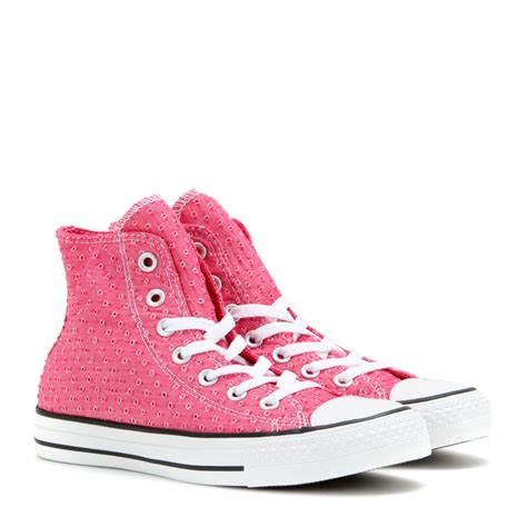 purple high top sneakers converse chuck all high top sneakers in purple