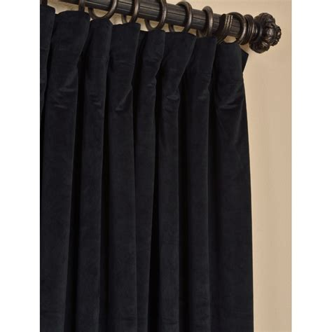extra wide velvet curtains exclusive fabrics and furnishings warm black velvet