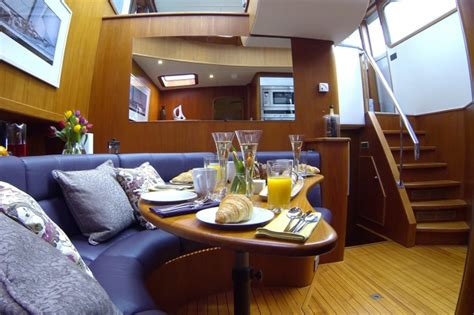 stay on a boat uk win a stay on a luxury boat with beds on board aol uk