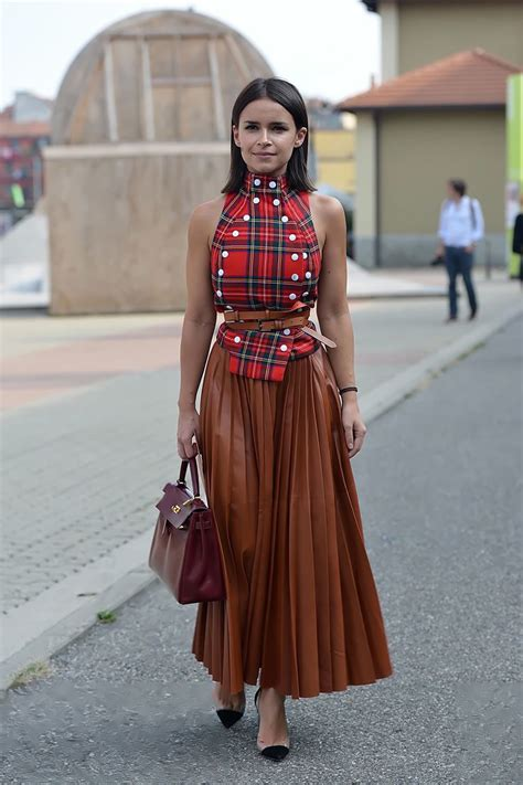 Rok Fashionable Sussan Brown Mini Skirt leather skirt the of leather just