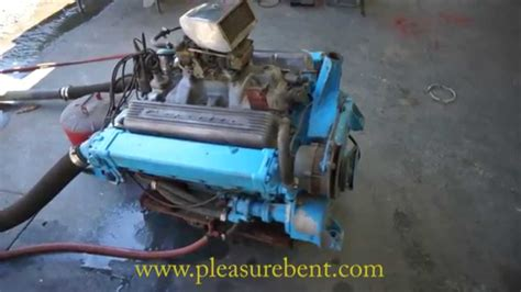 350 chevy boat engine chris craft chevy 350 engine youtube