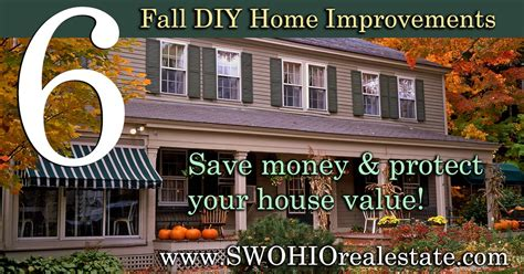 6 fall home improvements