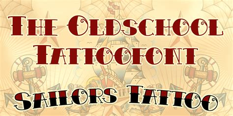 sailor tattoo font otto maurer 171 myfonts