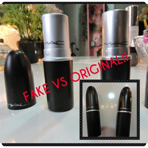 Lipstik Be Real Vs Real Mac Lipstick How To Identify