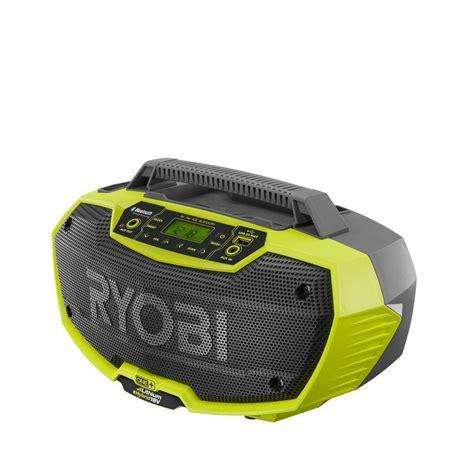 trending in the aisles ryobi one 18 volt hybrid stereo