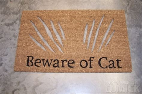 Beware Of The Cat Doormat beware of cat doormat e forwards emails