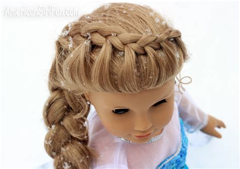 Hairstyles For Frozen by Doll Hairstyle Frozen Inspired Elsa Braid Americangirlfan