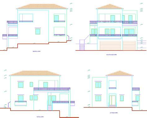 house elevation plans modern house plans elevations modern house