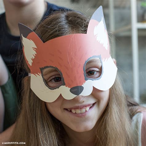 woodland animal mask templates woodland animal mask templates images free templates ideas