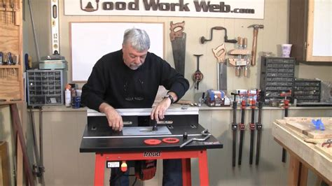 woodworking freud router  router table review youtube