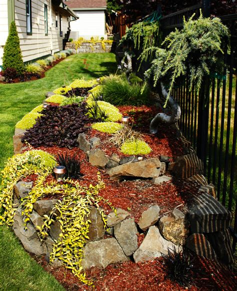 water feature decorative rock faux rock landscaping