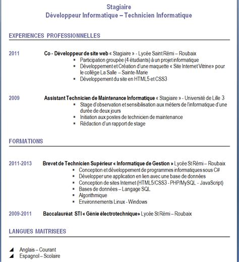 Lettre De Motivation Stage Finance Comptabilité Lettre De Motivation Bts Sio Employment Application